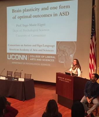 Dr. Eisgti Presenting at AAAS