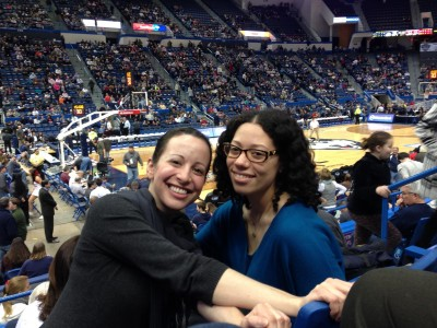 Clinical Students at UConn Basketball game